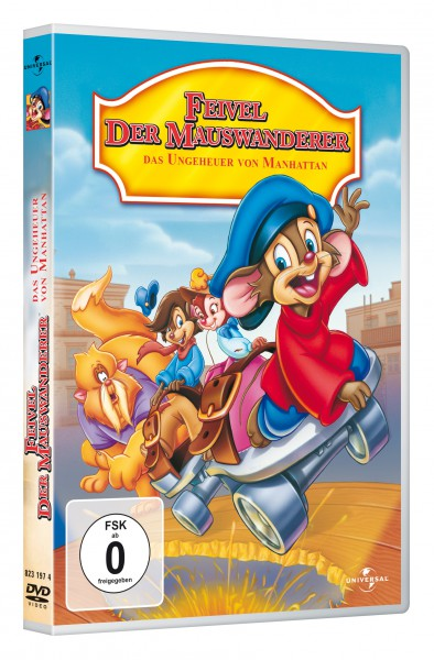 Feivel der Mauswanderer - Das Ungeheuer von Manhattan Island (DVD)