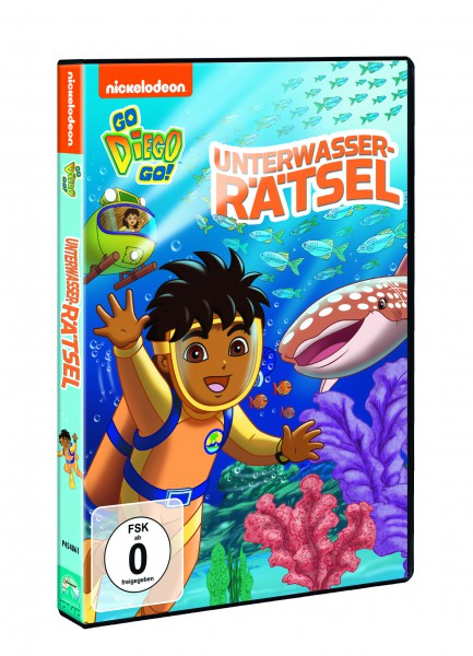 Go Diego Go!: Unterwasser-Rätsel