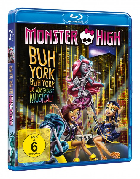 Monster High - Buh York, Buh York (Blu-ray)
