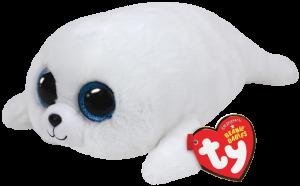 Beanie Boos Glubschi - Icy, Robbe weiß (ca.15cm)