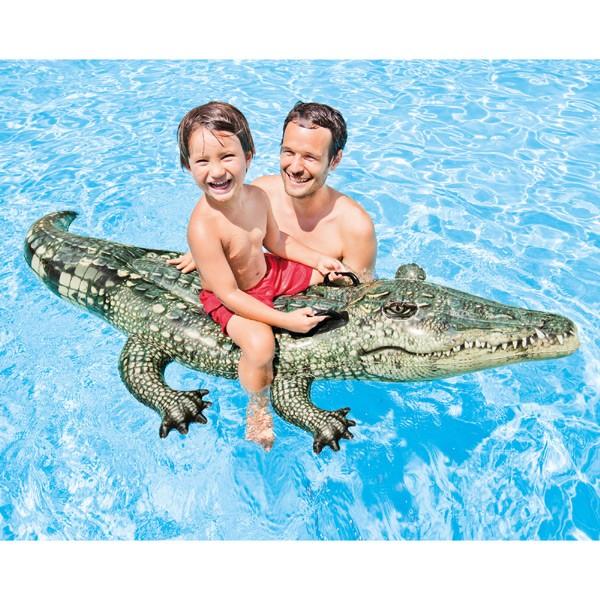 """Schwimmtier """"Alligator"""" mit 2 Haltegriffen"""