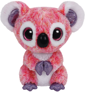 Beanie Boos Glubschi - Kacey, Koala pink(ca.15cm)
