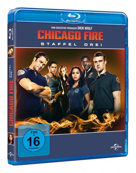 Chicago Fire - Staffel 3 (Blu-ray)