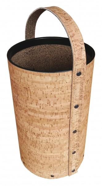 Holzkorb aus Naturkork Ø 21,5 cm