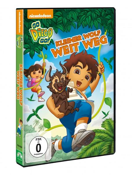Go Diego Go!: Kleiner Wolf weit weg