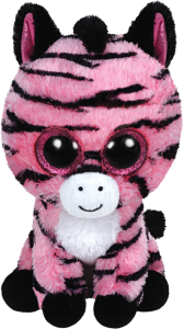Beanie Boos Glubschi - Zoey, Zebra pink(ca.15cm)