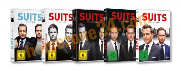 Suits Staffel 1-5 (Deutsche Ausgabe 19 DVDs)