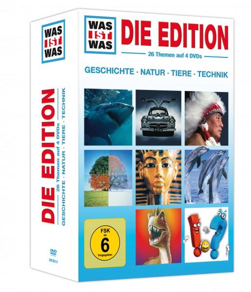 Was ist was - Die Edition (4 DVDs)