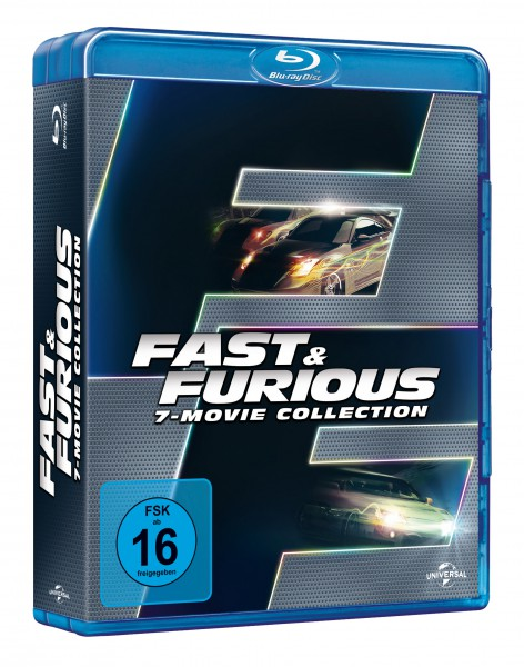 Fast & Furious - 7-Movie Collection (Blu-ray)