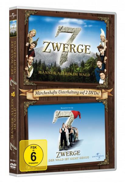 7 Zwerge - Männer allein im Wald / 7 Zwerge - Der Wald ist nicht genug (DVD)