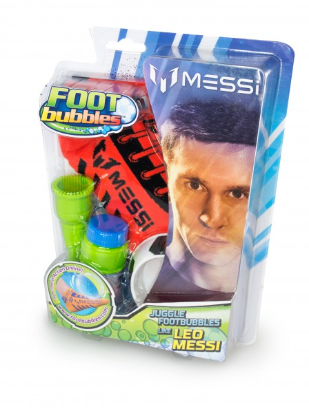 Messi Footbubbles Starter Pack in Rot