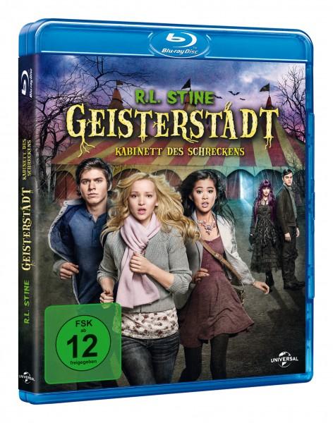 R.L. Stine - Geisterstadt: Kabinett des Schreckens (Blu-ray)