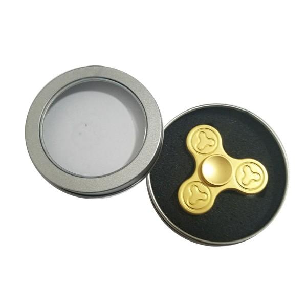 Hand Spinner, Spin It aus Metall mit Hybrid-Keramik-Kugellager