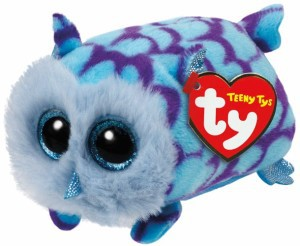 Teeny Ty´s - Eule Blau / Mimi ca. 10cm