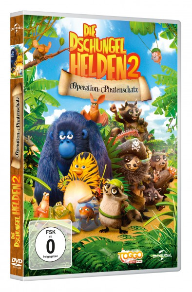 Die Dschungelhelden 2 - Operation: Piratenschatz (DVD)