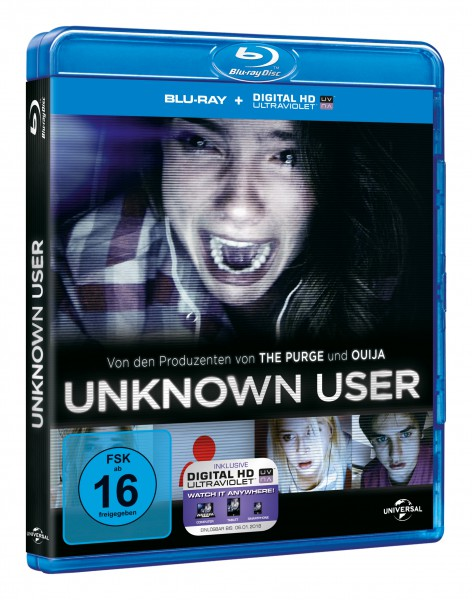Unknown User (Blu-ray)