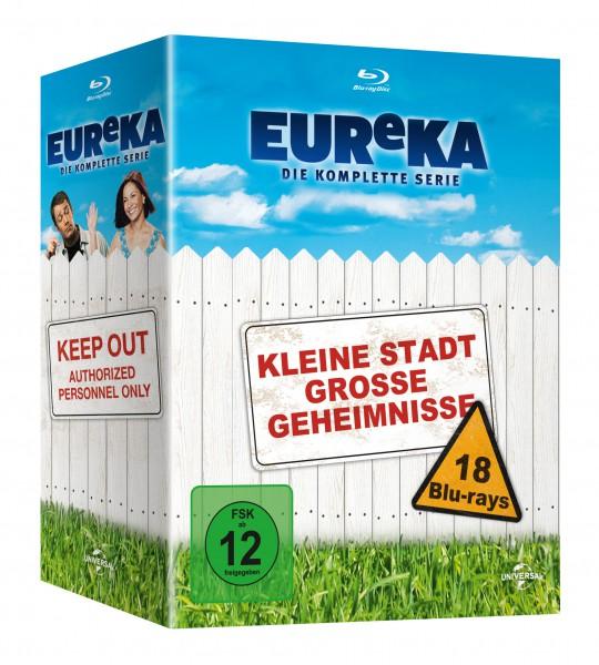 EUReKA - Die geheime Stadt - Die komplette Serie (Season 1-5) (Blu-ray)
