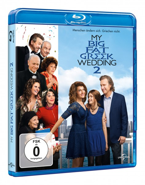 My big fat Greek Wedding 2 (Blu-ray)