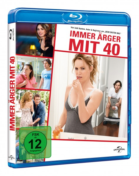 Immer Ärger mit 40 (Blu-ray)