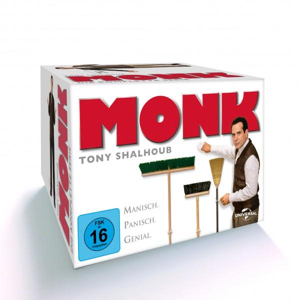 Monk - Die komplette Serie (Staffel 1-8)