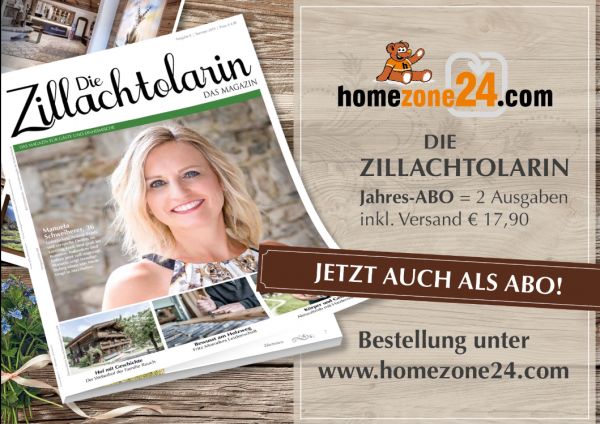 """Die Zillachtolarin - """"Das Magazin"""" Jahres-ABO = 2 Ausgaben inkl. Versand"""