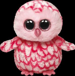 Beanie Boos Glubschi - Pinky, Schleiereule pink (ca.15cm)