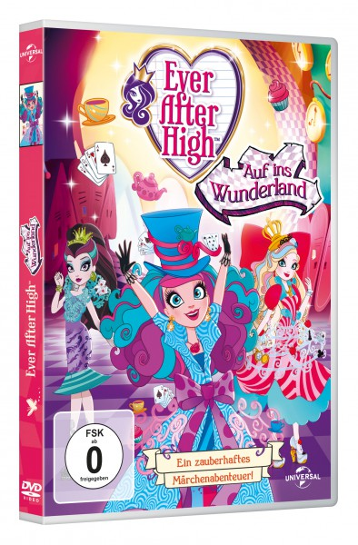 Ever After High - Auf ins Wunderland (DVD)
