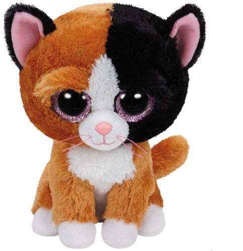 Beanie Boos Glubschi - Tauri, Katze braun (ca.15cm)