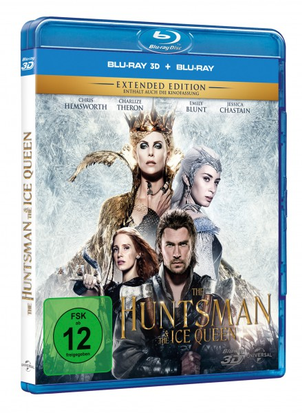 The Huntsman & the Ice Queen 3D - Extended Edition (Blu-ray 3D + Blu-ray)