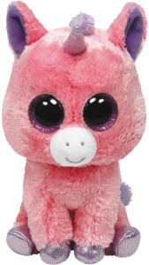 Beanie Boos Glubschi - Magic, Einhorn pink (ca.15cm)