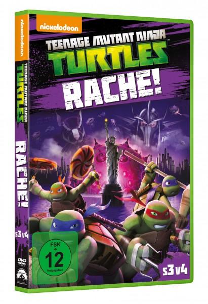 Teenage Mutant Ninja Turtles: Rache! (DVD)