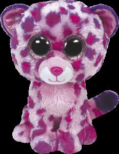 Beanie Boos Glubschi - Glamour, Leopard pink (ca.15cm)