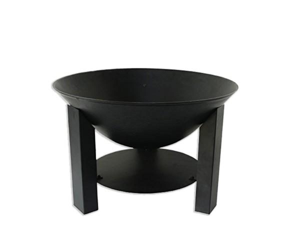 Feuerschale schwarz beschichtet Ø 60 cm