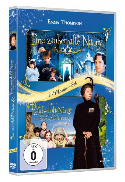 Eine zauberhafte Nanny / Eine zauberhafte Nanny - Knall auf Fall in ein neues Abenteuer (DVD)