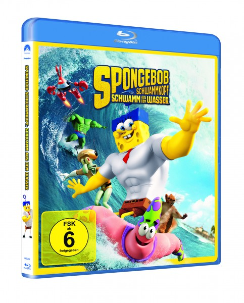 SpongeBob Schwammkopf - Schwamm aus dem Wasser (Blu-ray)