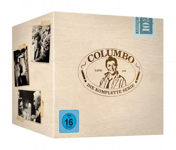 Columbo - Die komplette Serie (Staffel 1-10)