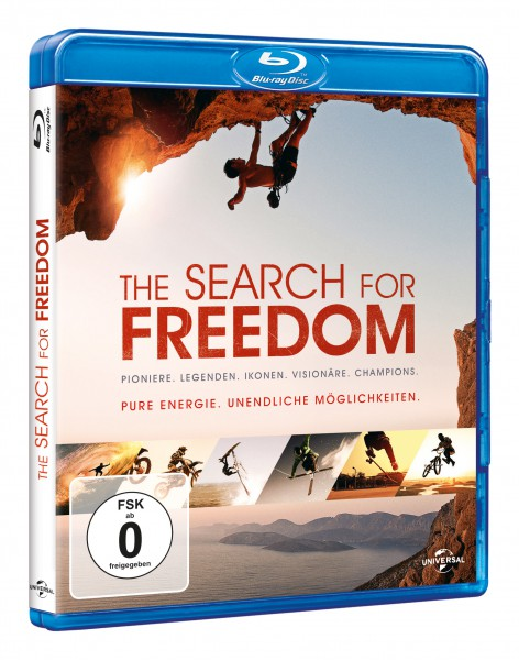 The Search for Freedom (Blu-ray)