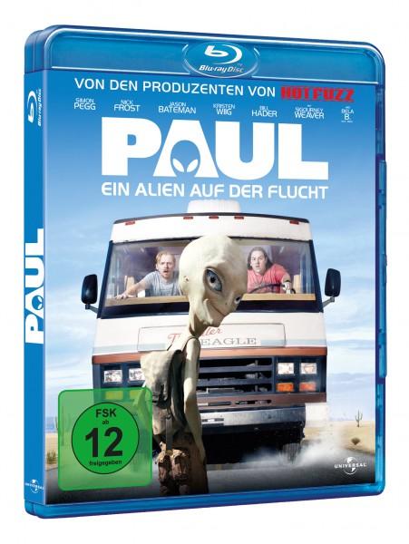 Paul - Ein Alien auf der Flucht (Blu-ray)