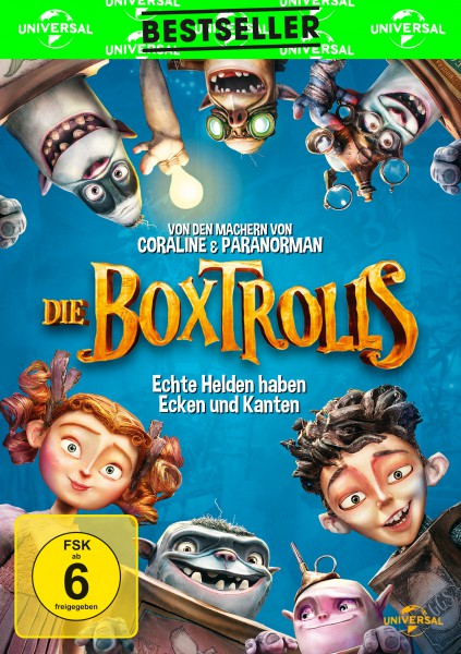 Die Boxtrolls (DVD)