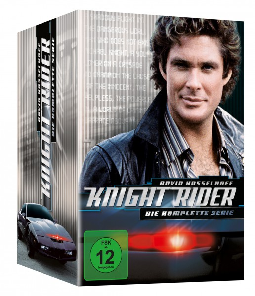 Knight Rider - Die komplette Serie (Season 1-4)