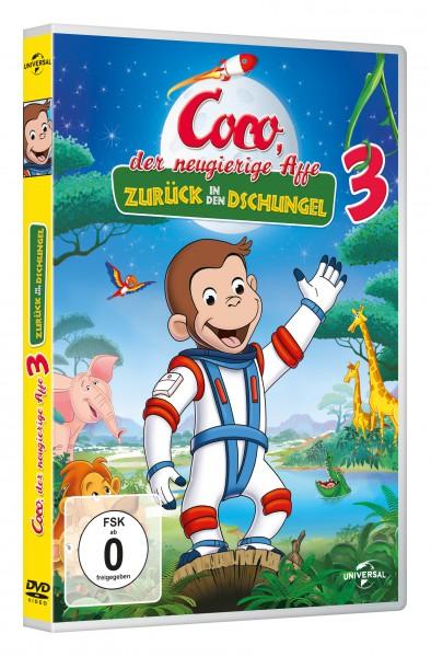 Coco, der neugierige Affe 3 - Zurück in den Dschungel (DVD)