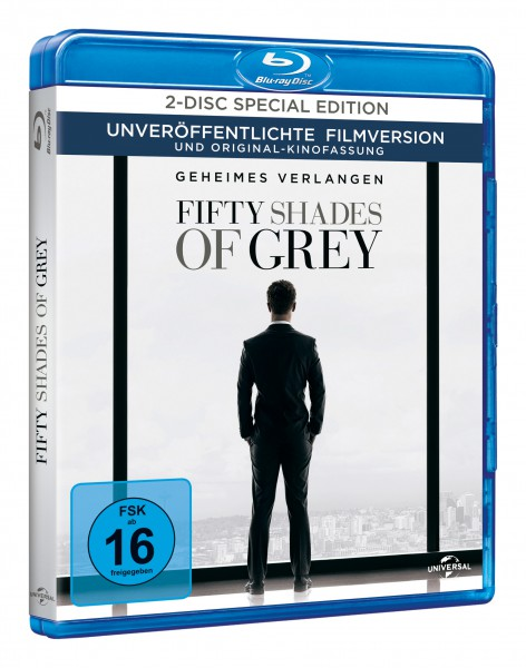 Fifty Shades of Grey - Geheimes Verlangen - 2-Disc Special Edition (Blu-ray)