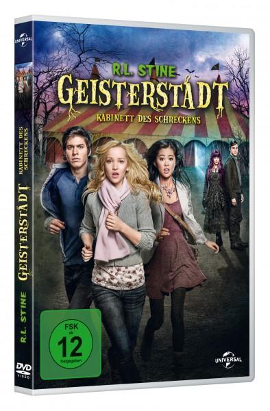 R.L. Stine - Geisterstadt: Kabinett des Schreckens (DVD)