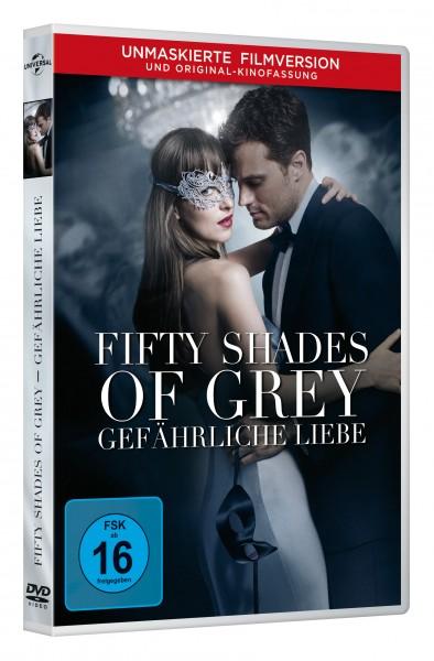 Fifty Shades of Grey 2 - Gefährliche Liebe (DVD)