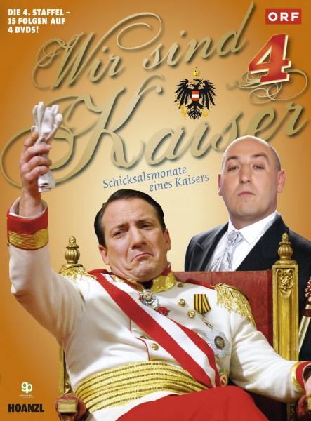 Wir sind Kaiser - Staffel 4 (4 DVD´s)