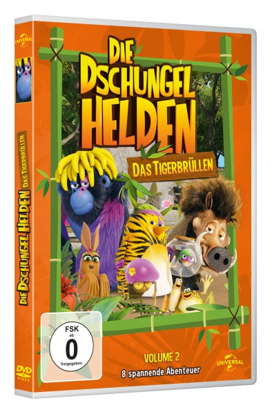 Die Dschungelhelden (Vol. 2) - Das Tigerbrüllen (DVD)
