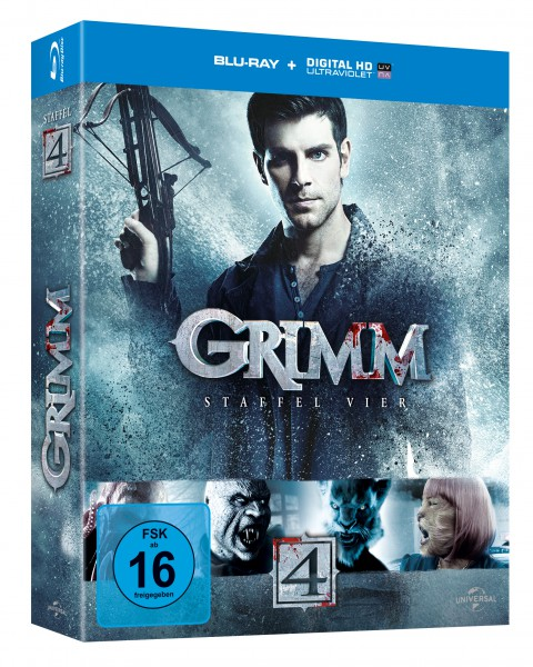 Grimm - Staffel 4 (Blu-ray)