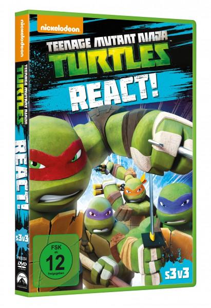 Teenage Mutant Ninja Turtles: React! (DVD)