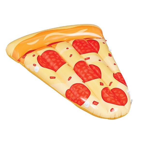 Große Luftmatratze, Pfefferoni-Pizza
