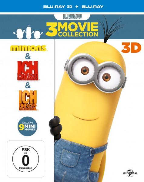 Minions Box (+Blu-ray) (+3D-Blu-ray) Movie Collection